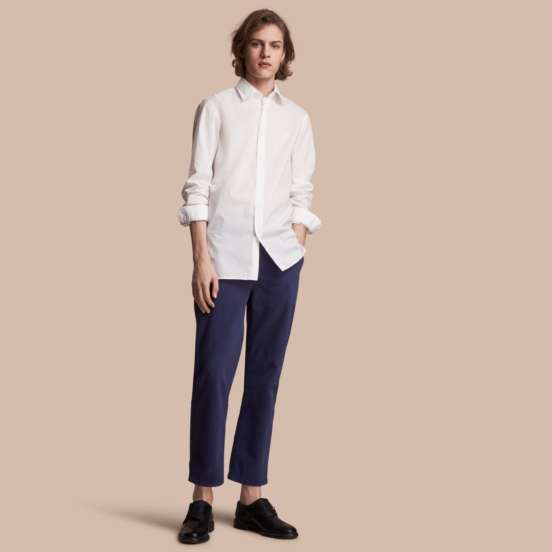 Japanese Cotton Poplin Shirt - gallery image 1