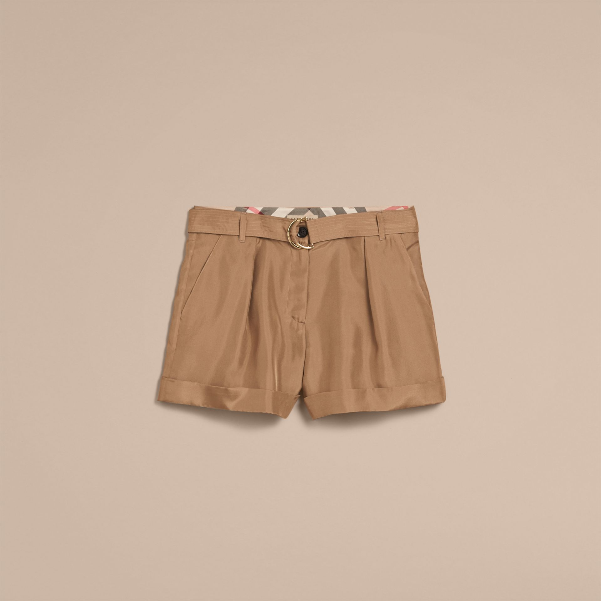 Tailored Silk Shorts - gallery image 4