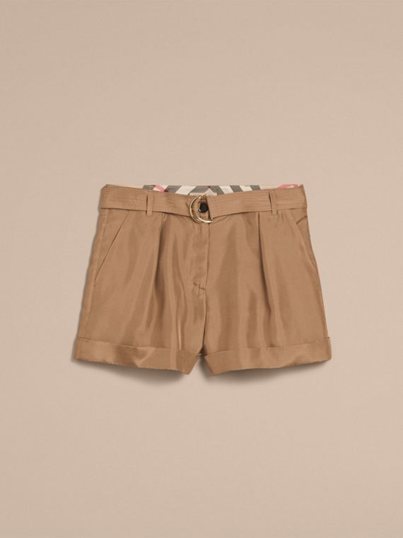 Tailored Silk Shorts - cell image 3