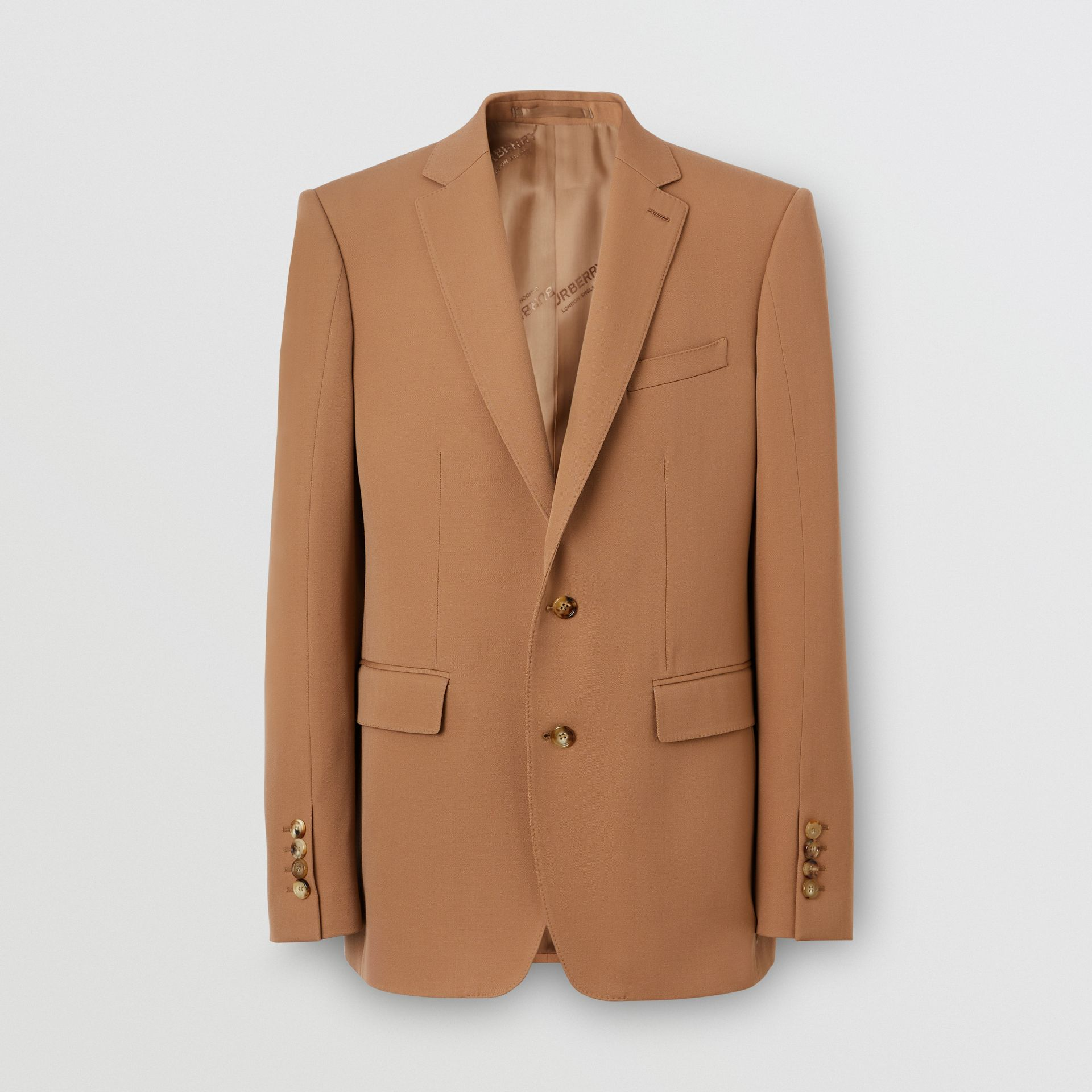 Camel Hair Coat with Detachable Wool Jacket in Warm - Men | Burberry - gallery image 3