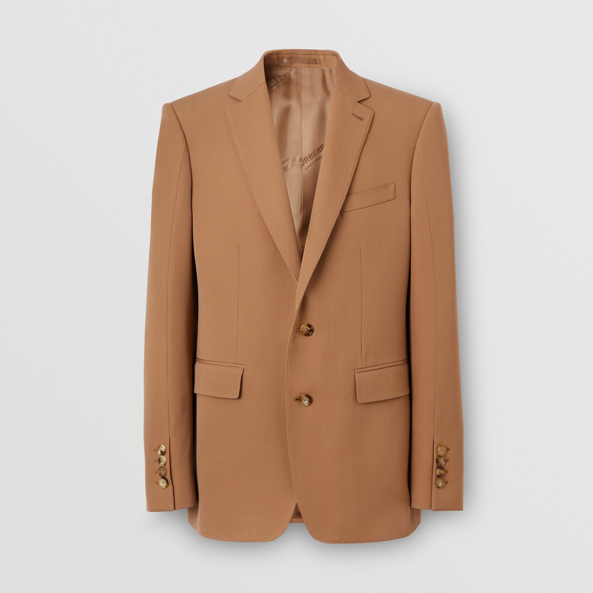 Manteau en poil de chameau avec veste amovible en laine (Camel Intense) - Homme | Burberry Canada - photo de la galerie 3