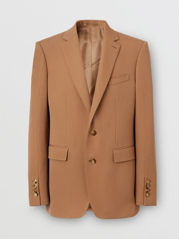Camel Hair Coat with Detachable Wool Jacket in Warm - Men | Burberry - cell image 3