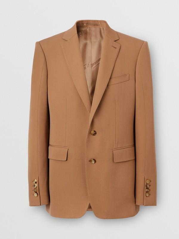 Manteau en poil de chameau avec veste amovible en laine (Camel Intense) - Homme | Burberry Canada - cell image 3