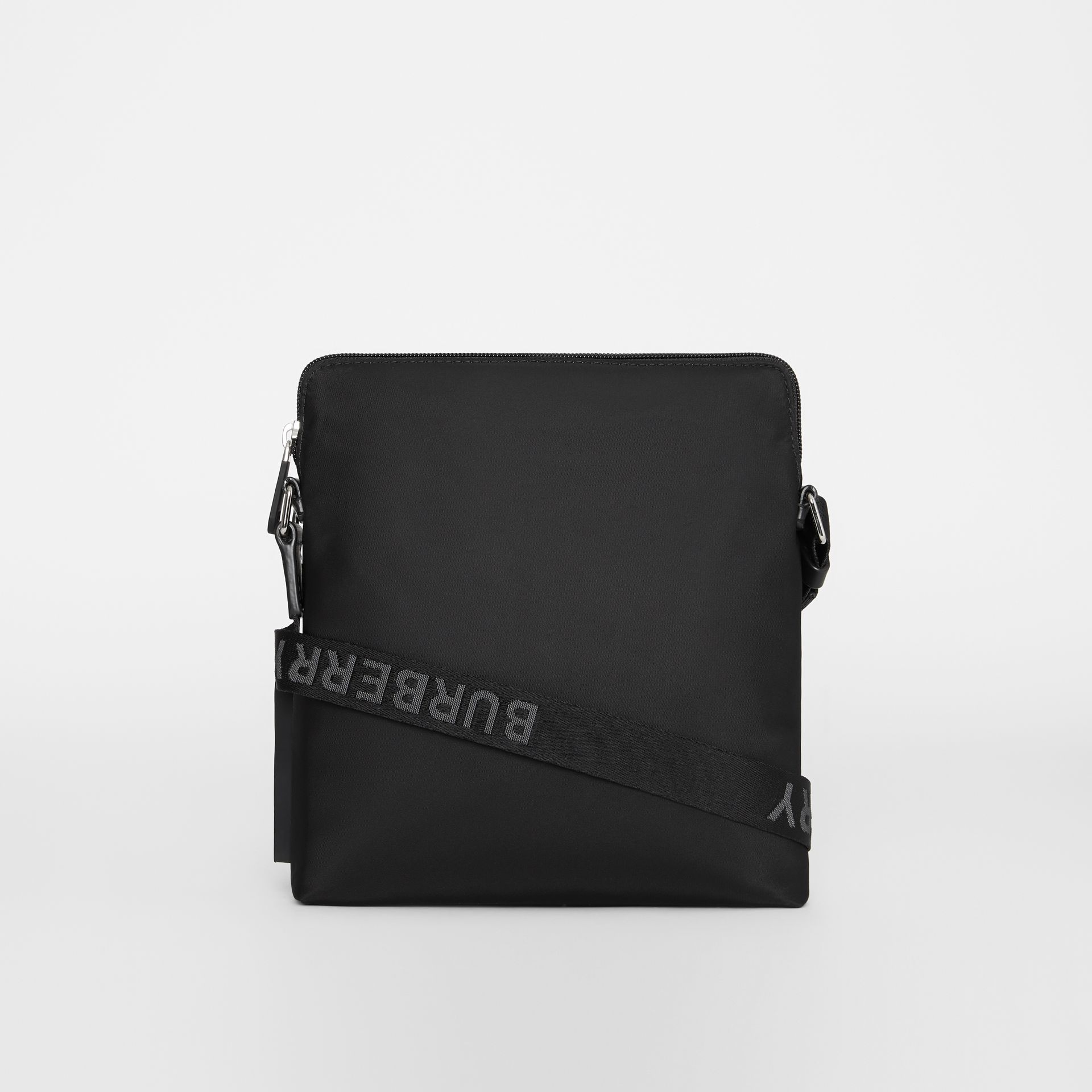 Logo Detail Crossbody Bag in Black - Men | Burberry - gallery image 7