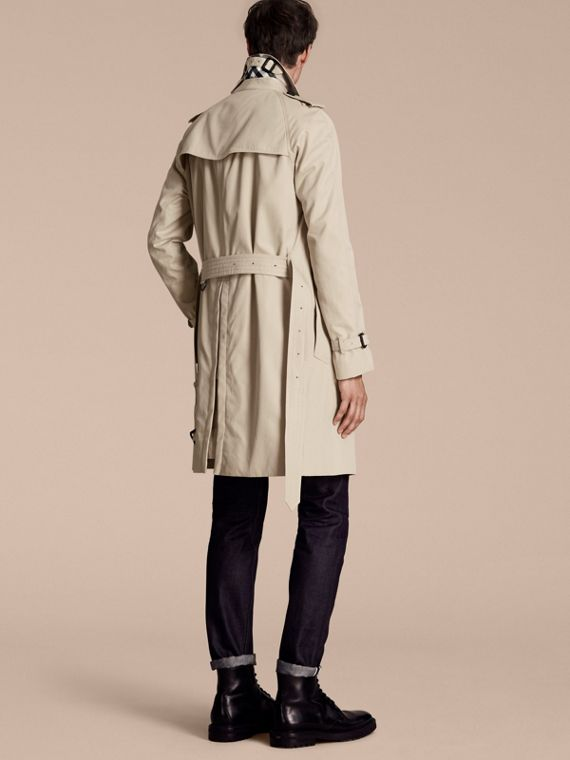 Stone The Wiltshire – Long Heritage Trench Coat Stone - cell image 2
