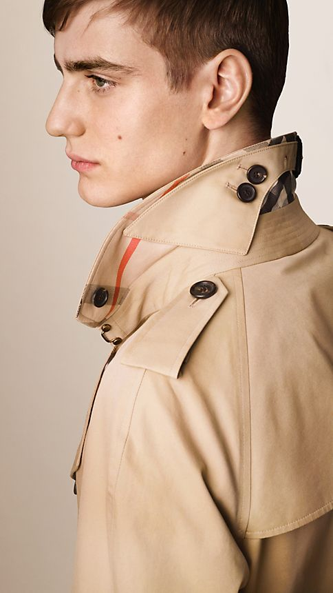 Honey The Wiltshire - Long Heritage Trench Coat - Image 3