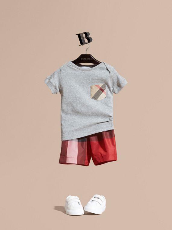 Check Swim Shorts | Burberry Australia