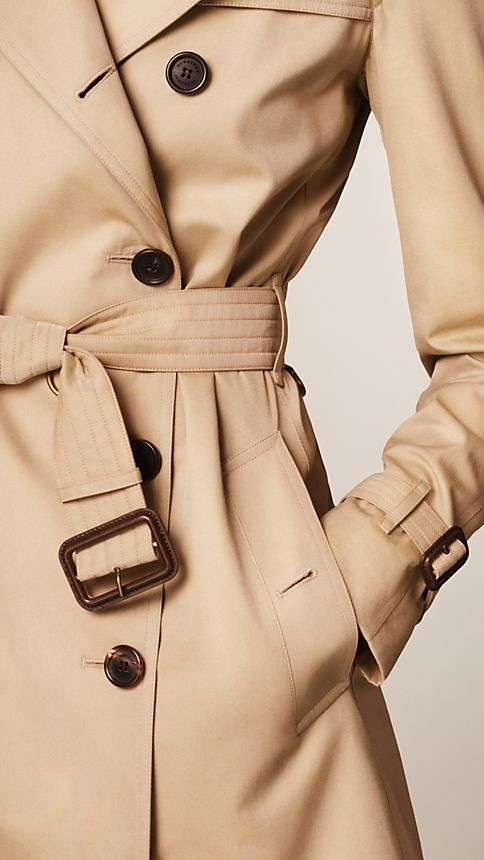 Honey The Westminster - Mid-Length Heritage Trench Coat - Image 4