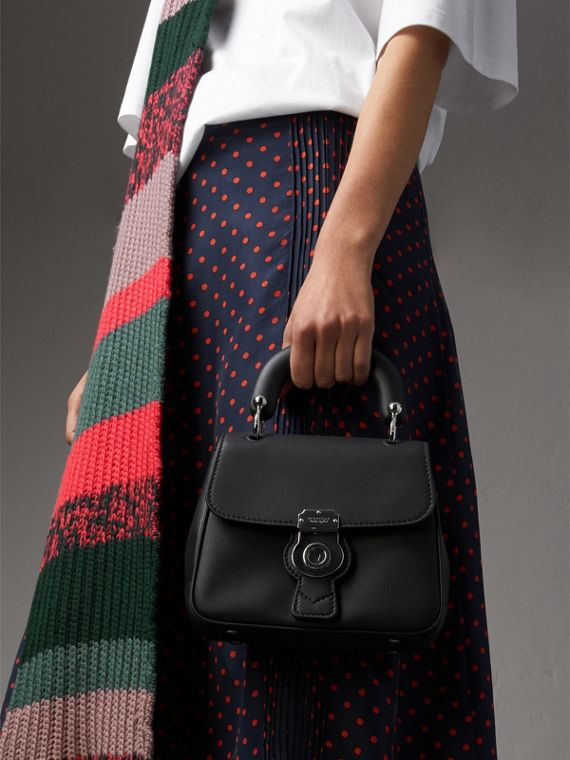 The Small DK88 Top Handle Bag in Black - Women | Burberry - cell image 3
