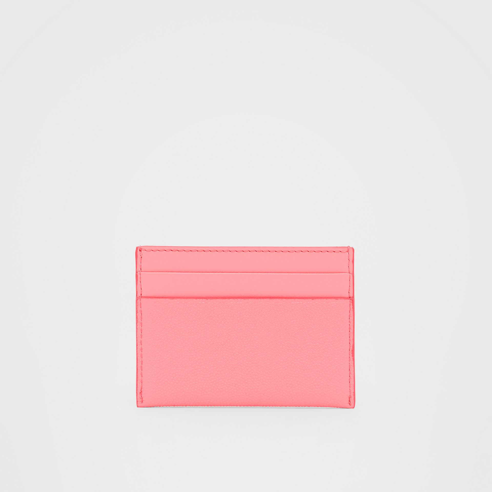 Monogram Motif Leather Card Case in Candy Floss/palladio - Women | Burberry Hong Kong S.A.R - gallery image 4