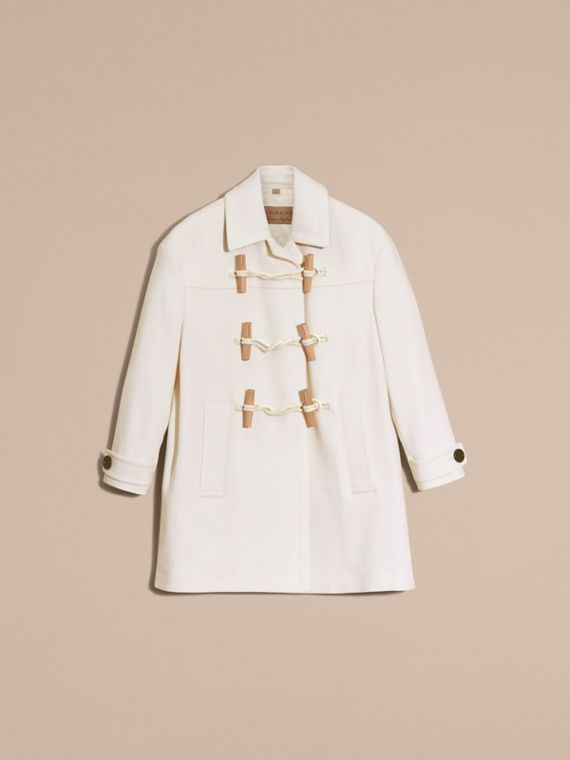 White Cashmere Duffle Coat White - cell image 3