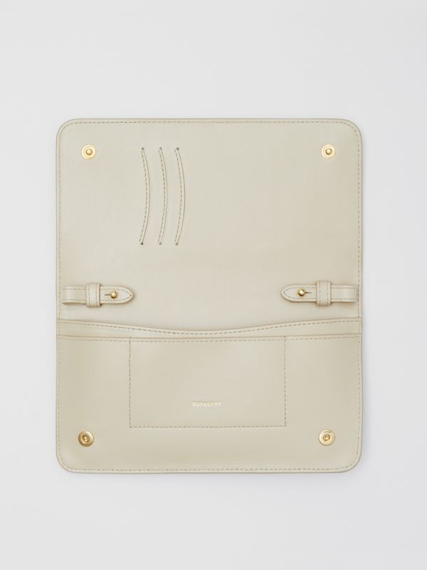 Vintage Check E-canvas Phone Wallet with Strap in Beige - Women | Burberry - cell image 3