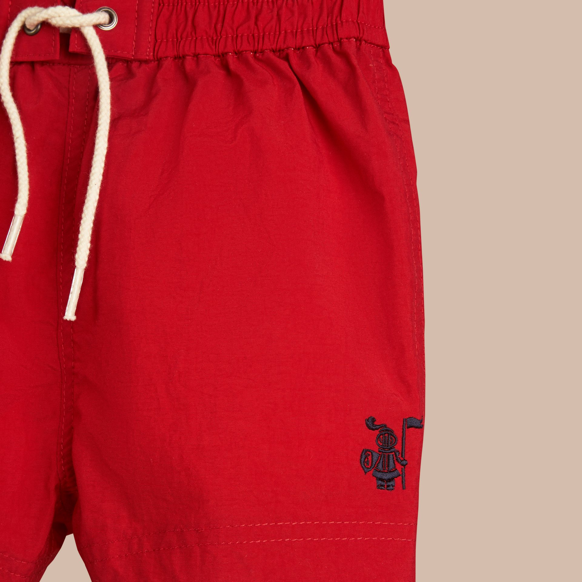 Lightweight Swim Shorts in Military Red | Burberry - gallery image 2