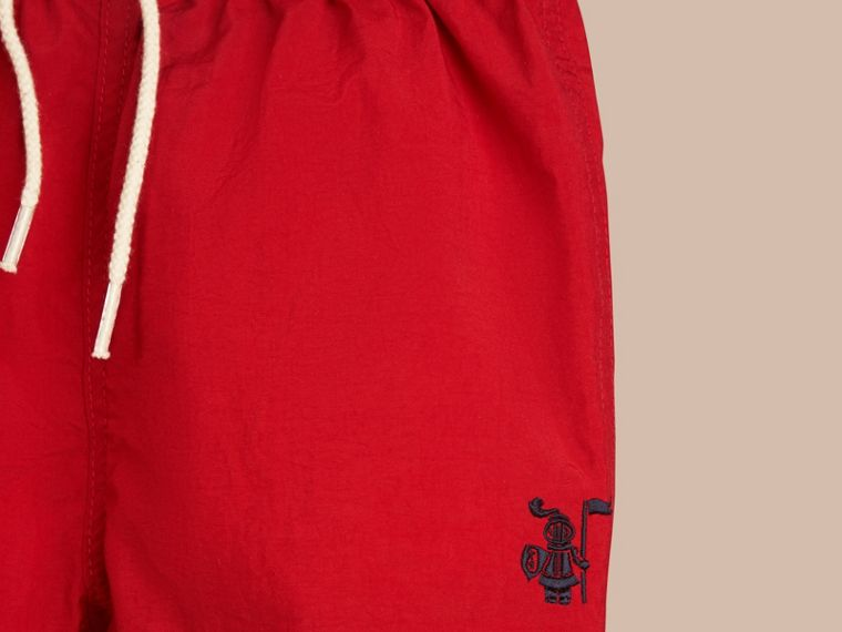 Lightweight Swim Shorts in Military Red | Burberry - cell image 1