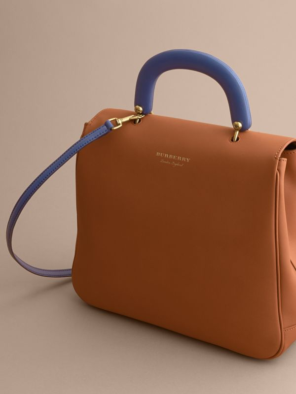 The Large DK88 Top Handle Bag in Bright Toffee - Women | Burberry - cell image 3