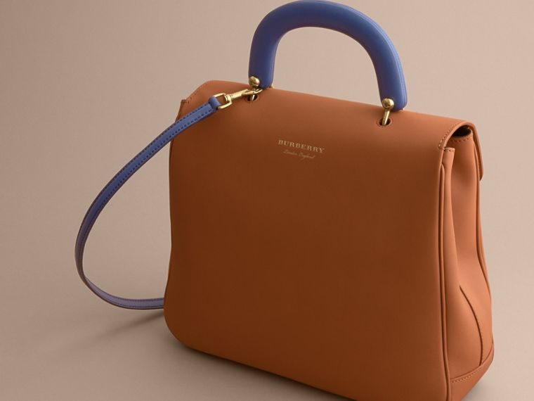 The Large DK88 Top Handle Bag Bright Toffee - cell image 4