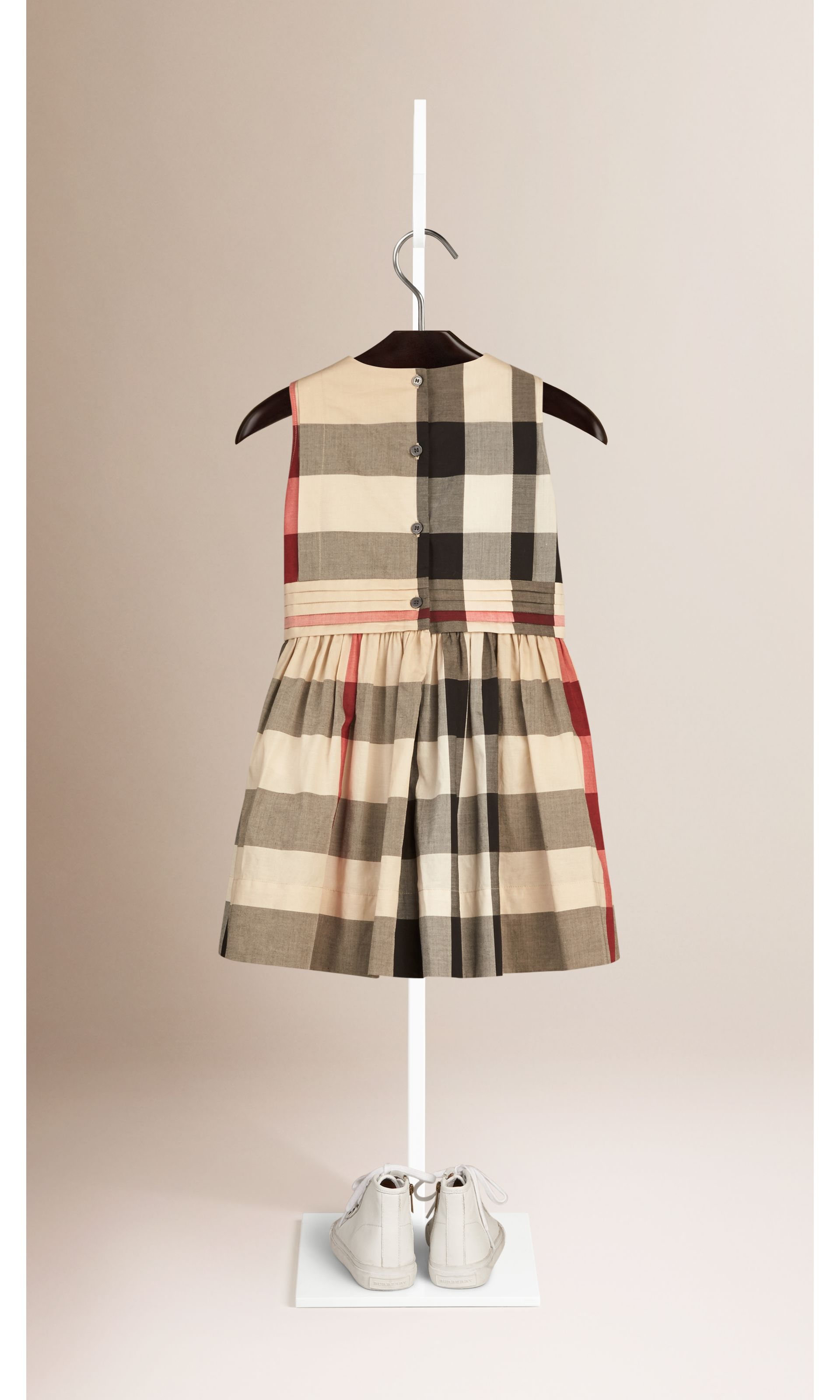 New classic check Sleeveless Check Cotton Dress New Classic - gallery image 2