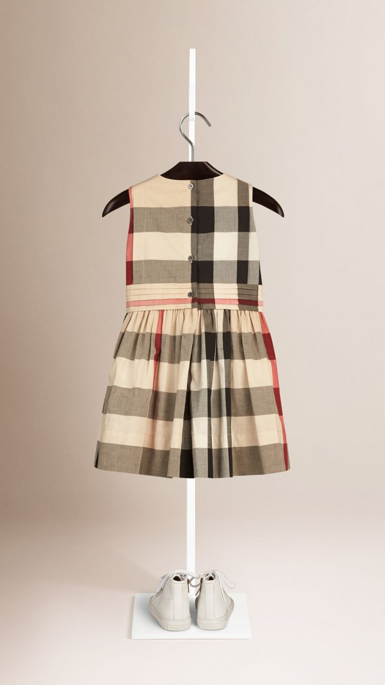 New classic check Sleeveless Check Cotton Dress New Classic - cell image 1