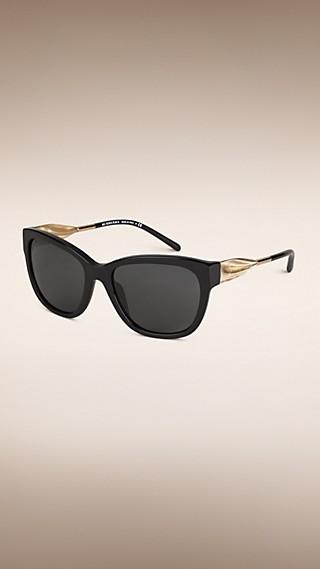 Gafas de sol con montura de ojo de gato