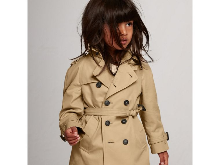 The Wiltshire Trench Coat in Honey | Burberry Singapore - cell image 4