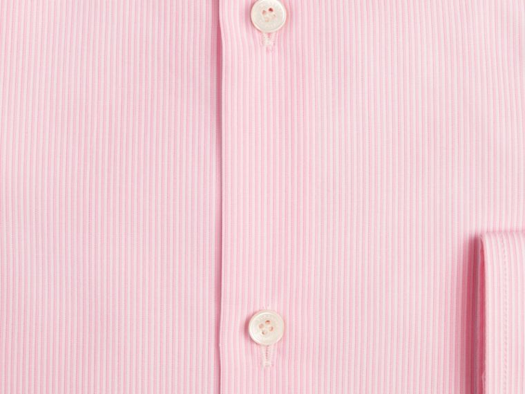 City pink Modern Fit Striped Cotton Poplin Shirt City Pink - cell image 1