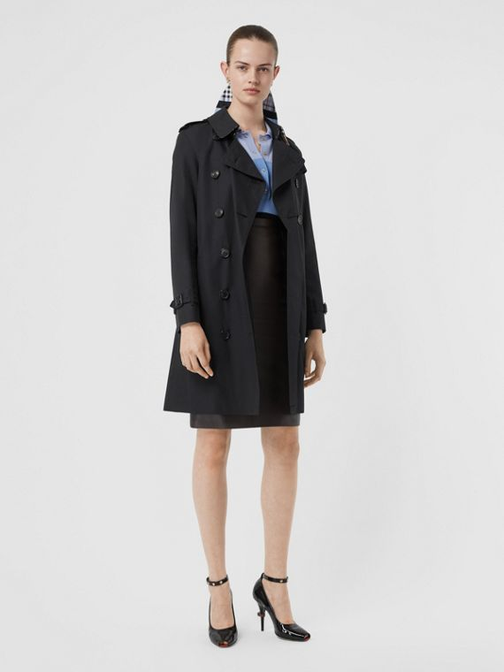 The Kensington Heritage Trench Coat in Midnight