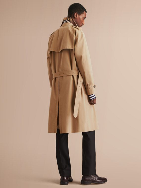 The Westminster – Long Heritage Trench Coat in Honey - cell image 2
