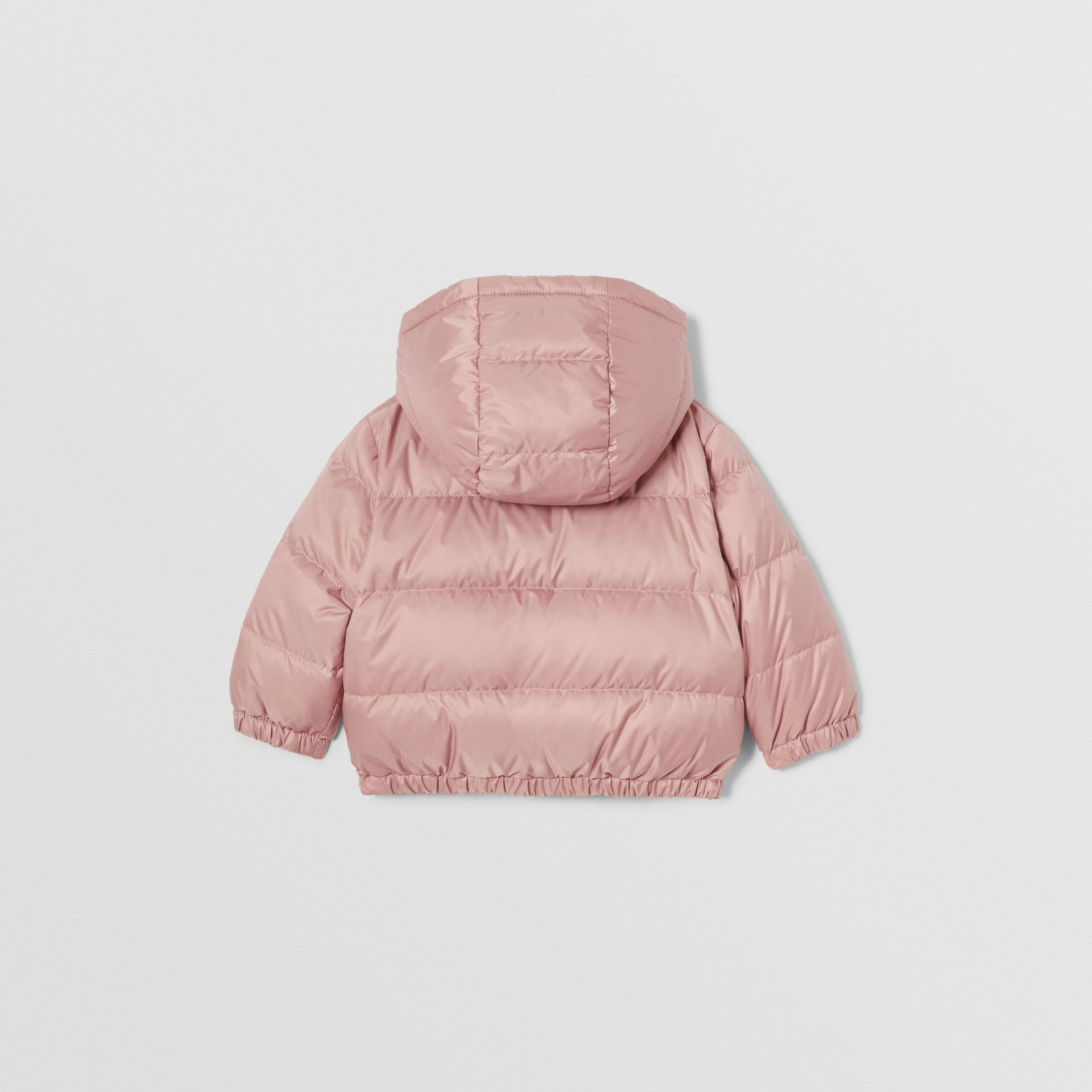 Reversible Vintage Check Down-filled Puffer Jacket in Lavender Pink - Children | Burberry - gallery image 4