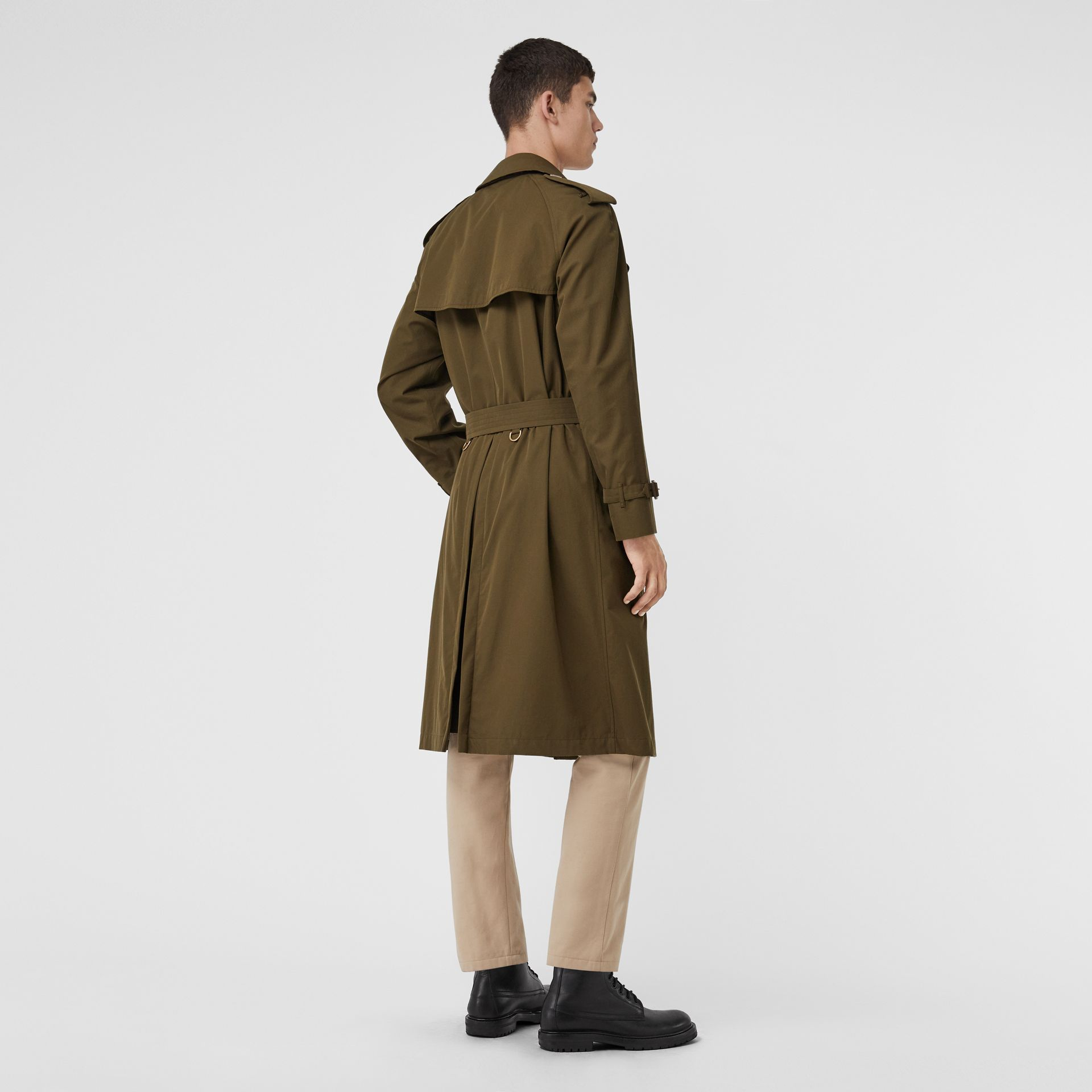 Trench coat Heritage The Westminster (Cachi Militare Scuro) - Uomo | Burberry - immagine della galleria 2