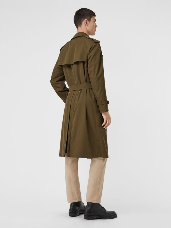 The Westminster Heritage Trench Coat in Dark Military Khaki - Men | Burberry Hong Kong - cell image 2