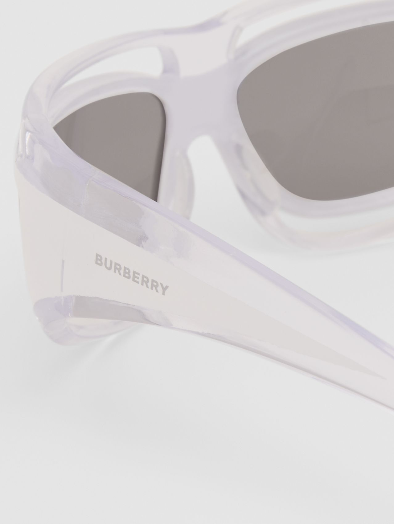 Eliot Shield Sunglasses in White