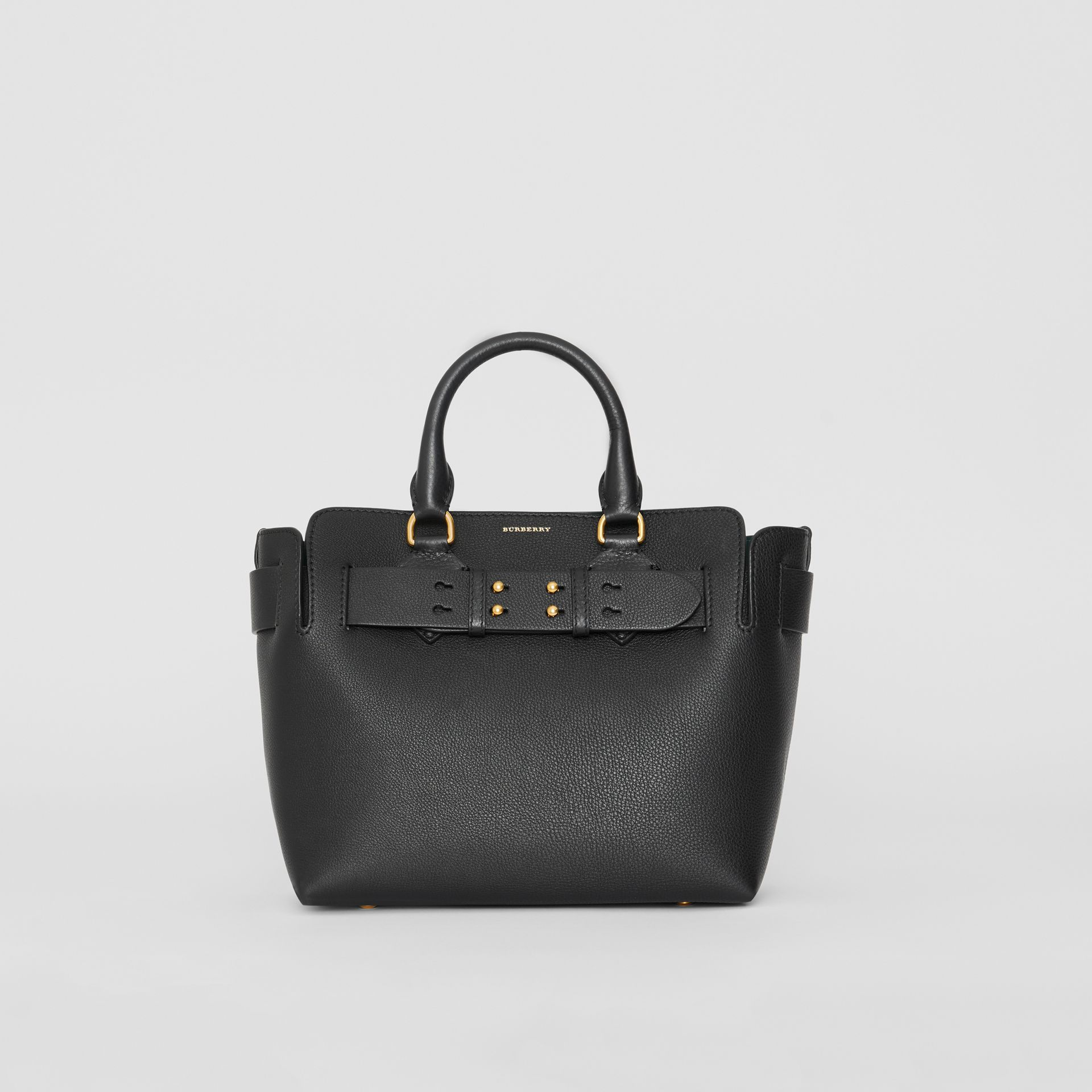The Small Leather Belt Bag in Black - Women | Burberry United Kingdom - gallery image 0