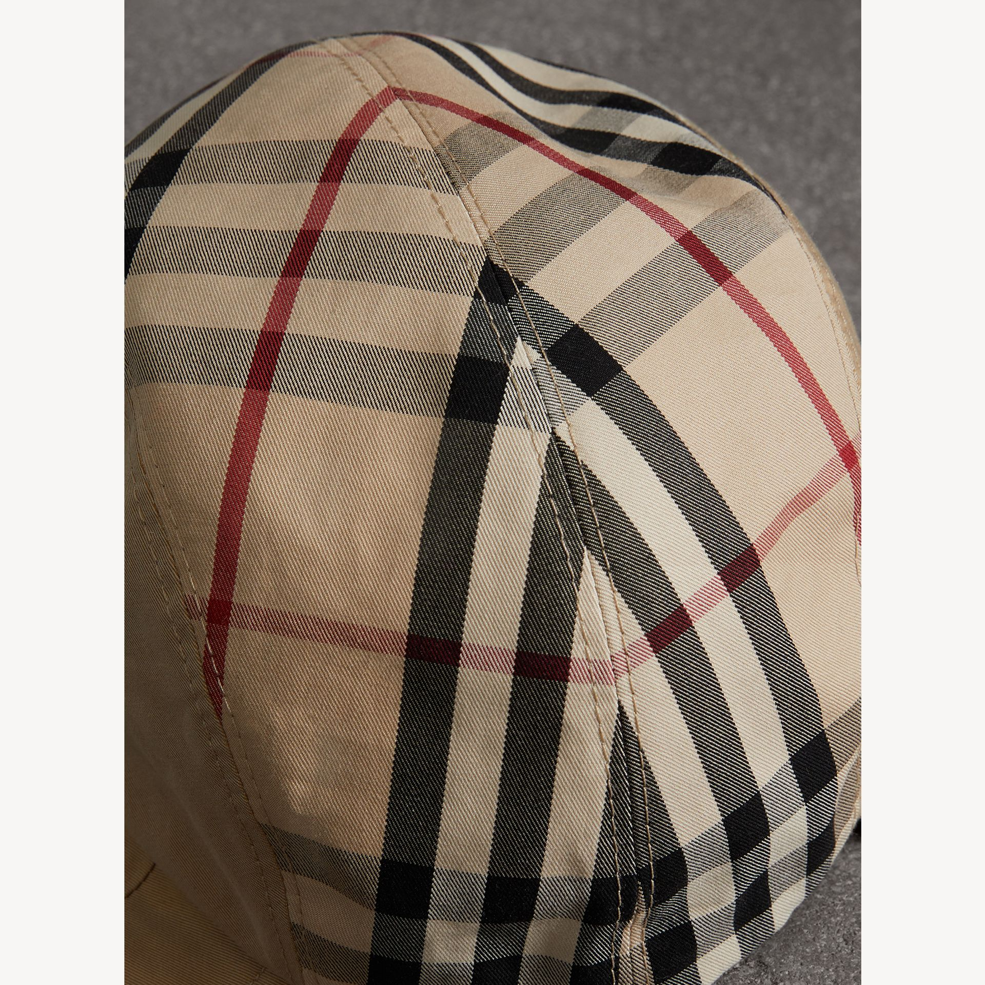 Gosha x Burberry Duckbill Cap in Honey | Burberry - gallery image 1