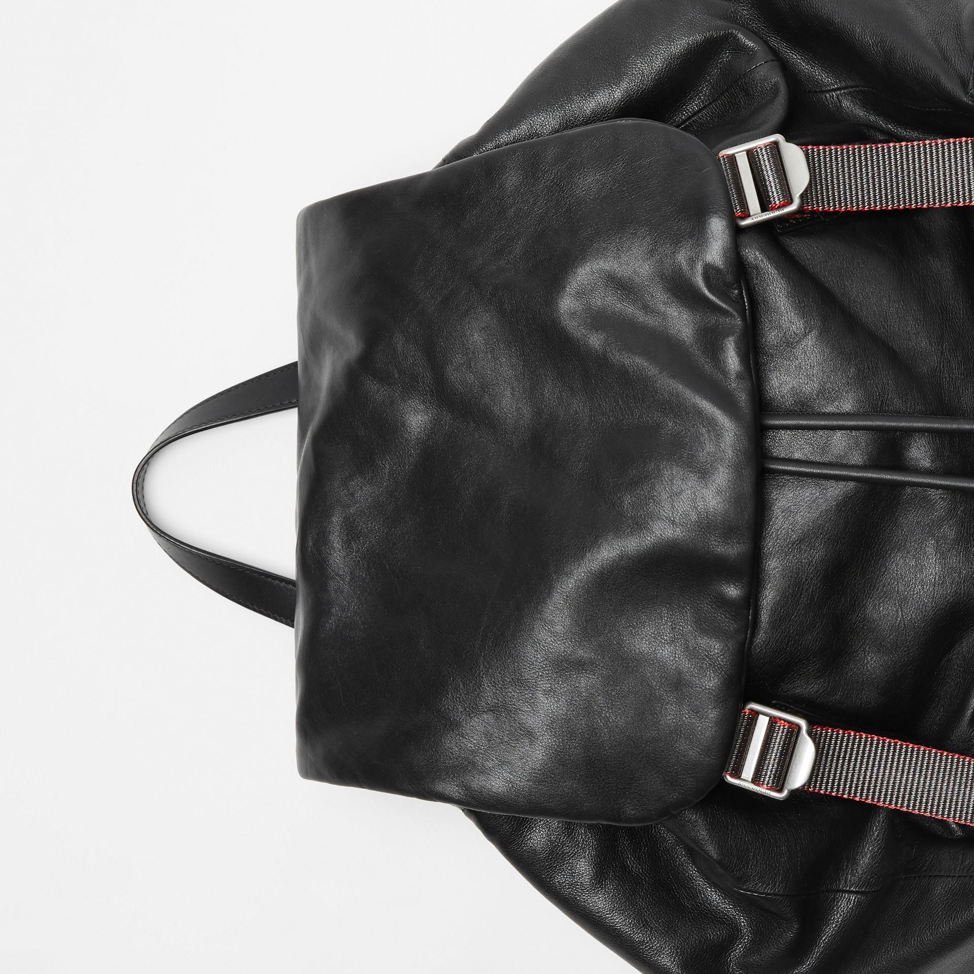 The Extra Large Rucksack in Nappa Leather in Black - Men | Burberry - gallery image 1
