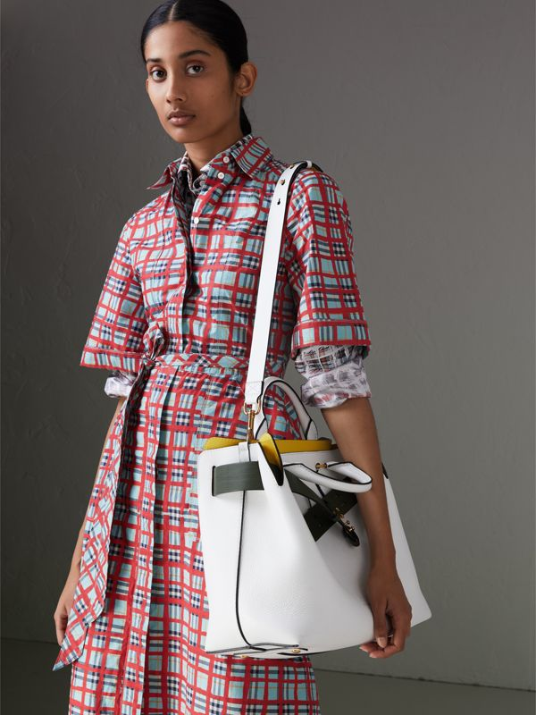 Sac The Belt moyen en cuir (Blanc Craie) - Femme | Burberry - cell image 3