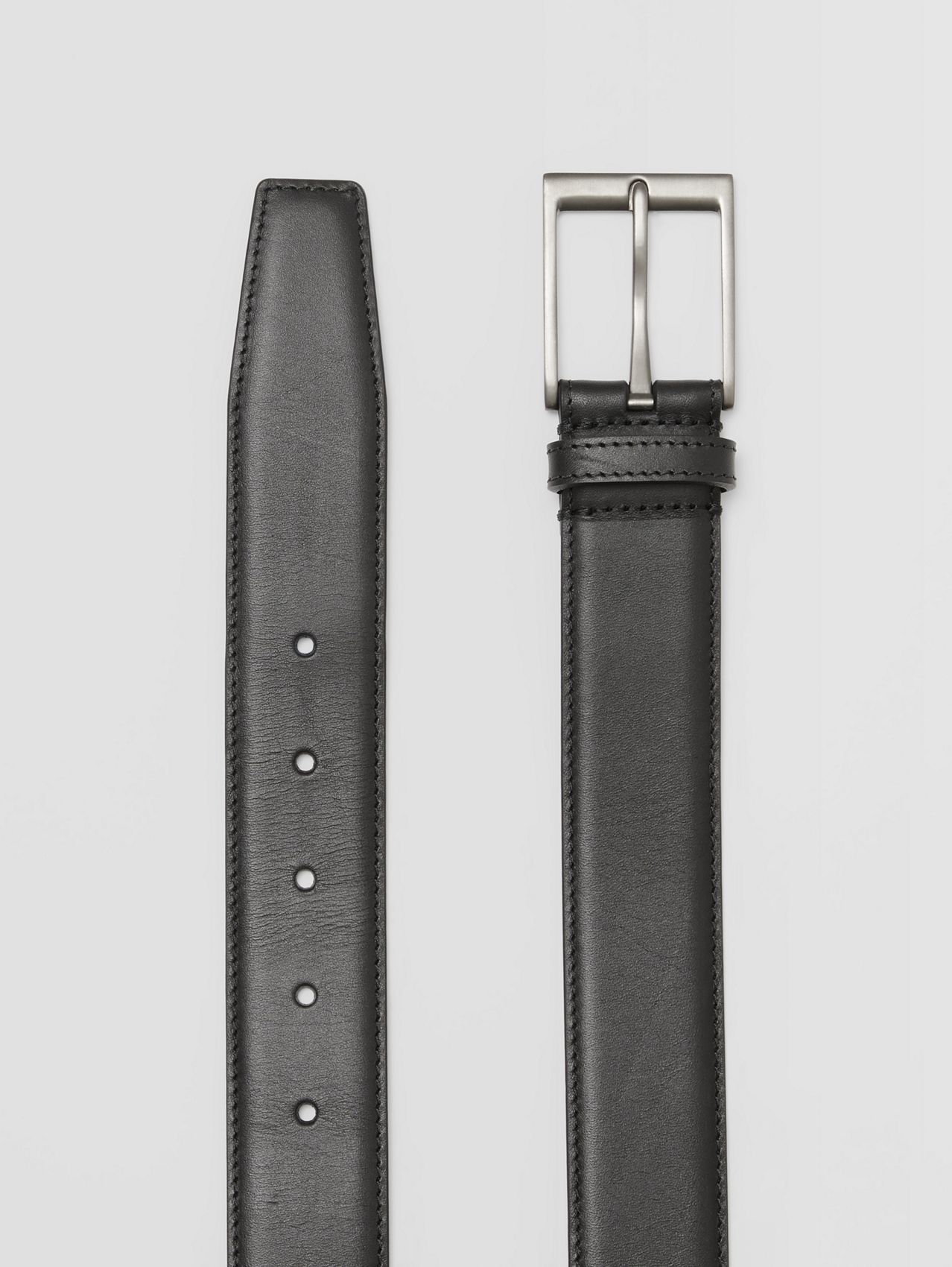 Leather Belt in Black
