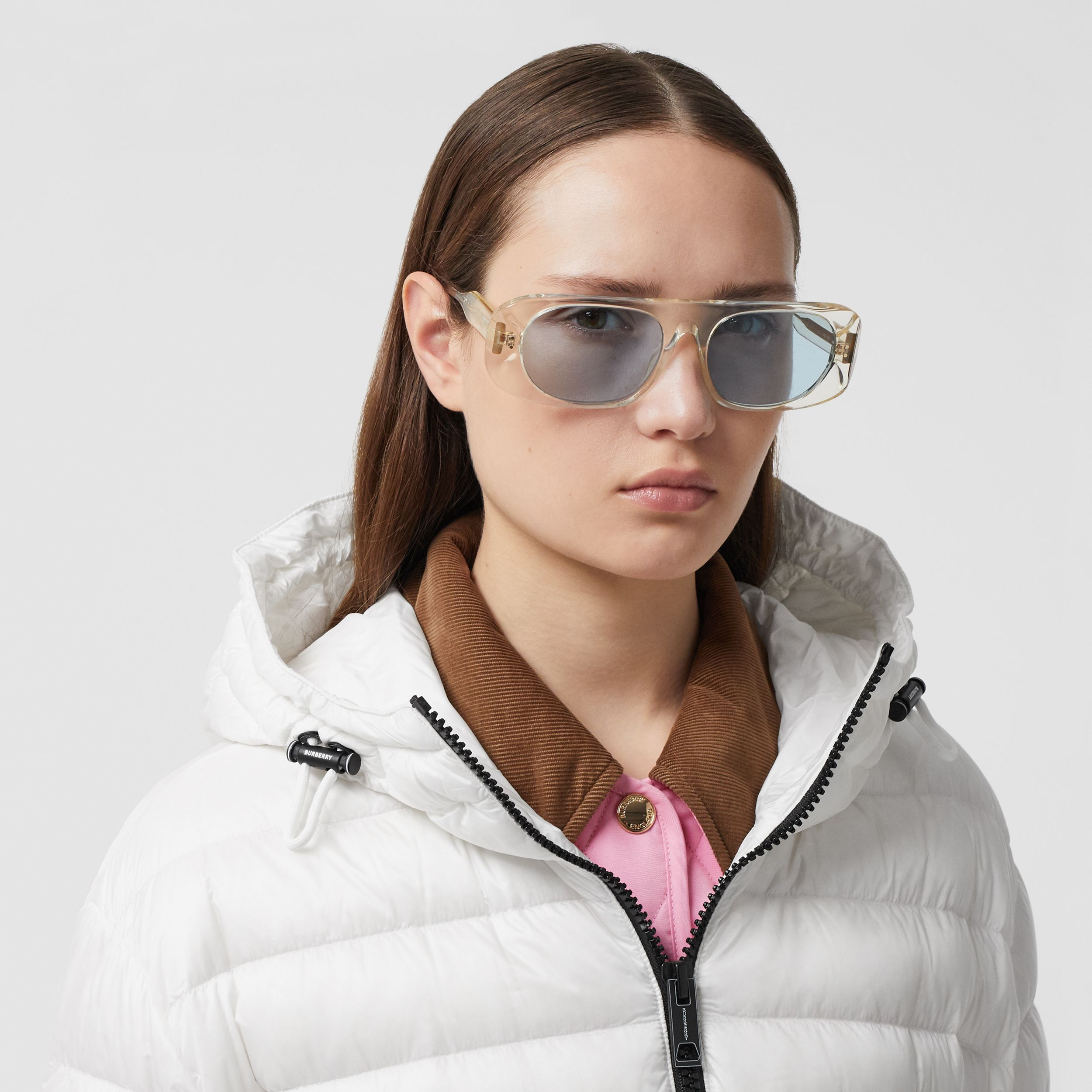 Lightweight Hooded Puffer Jacket - Women | Burberry - 2