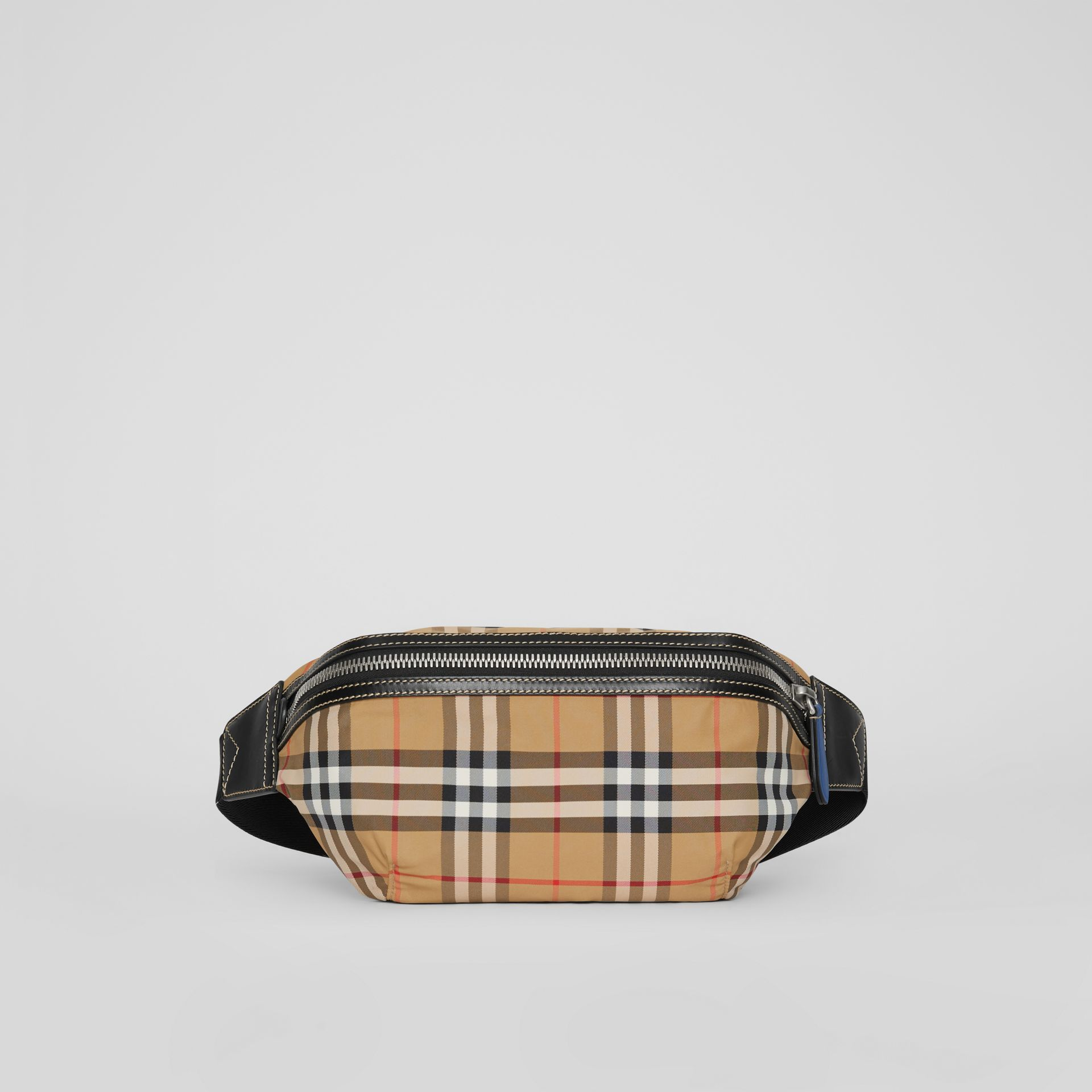 Medium Vintage Check Bum Bag in Antique Yellow | Burberry Singapore - gallery image 0