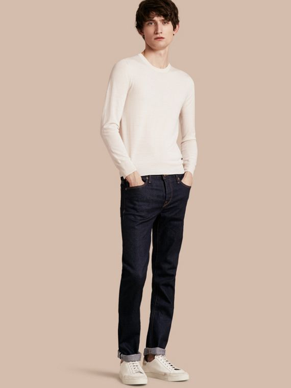 Straight Fit Stretch Japanese Selvedge Denim Jeans