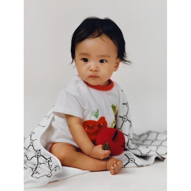 Burberry - Coffret cadeau trois pièces pour bébé à imprimé fruits et fleurs - 3