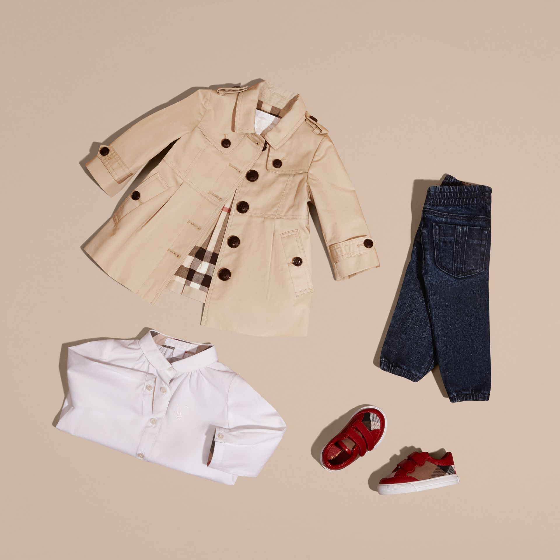 Trench-coat en coton | Burberry - photo de la galerie 5