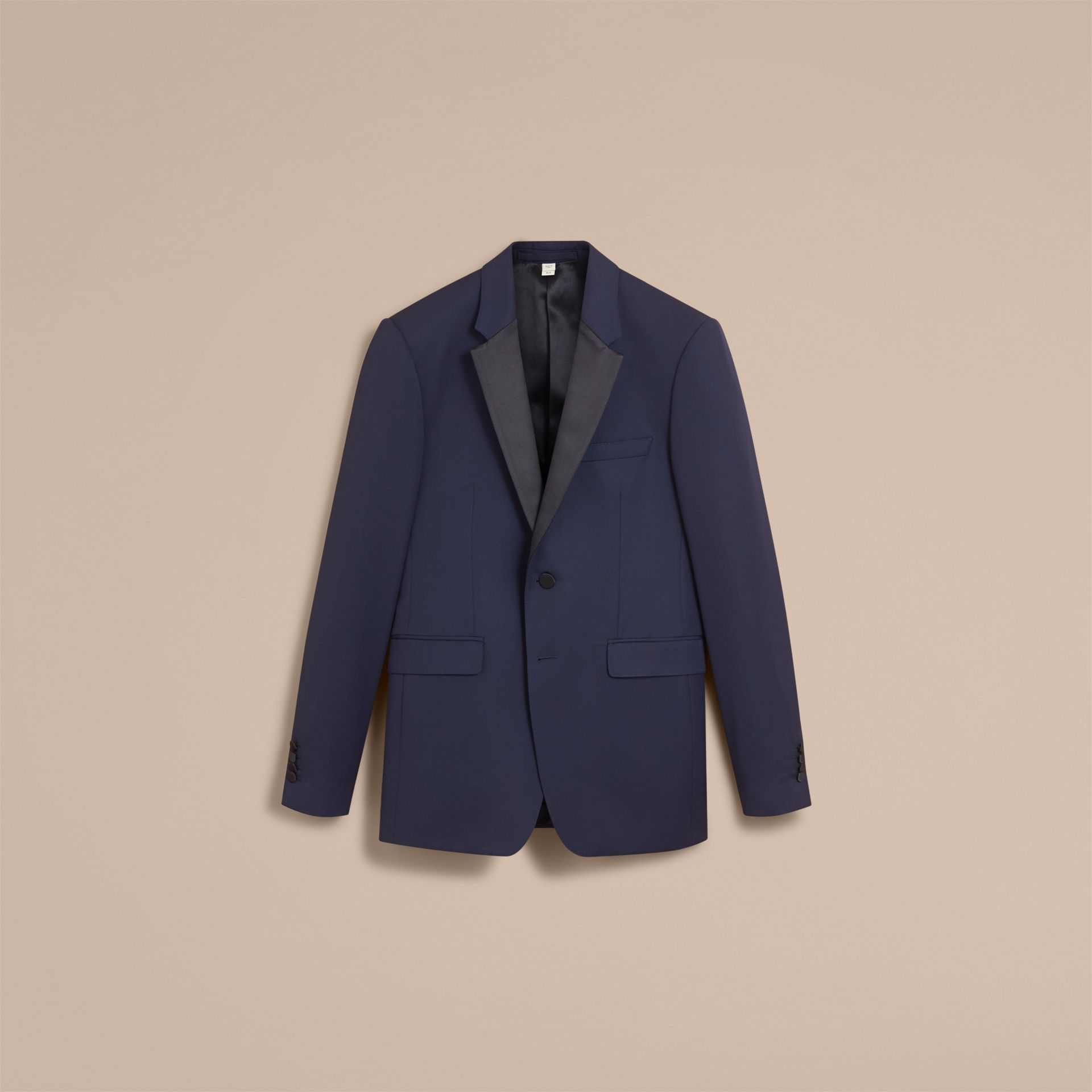 Modern Fit Virgin Wool Half-canvas Tuxedo - Men | Burberry - gallery image 4