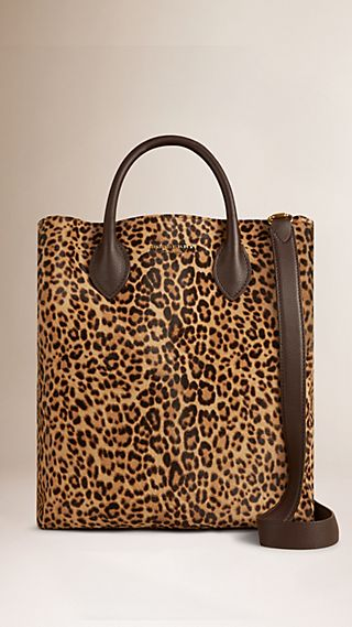 The Carryall in Animal Print Calfskin