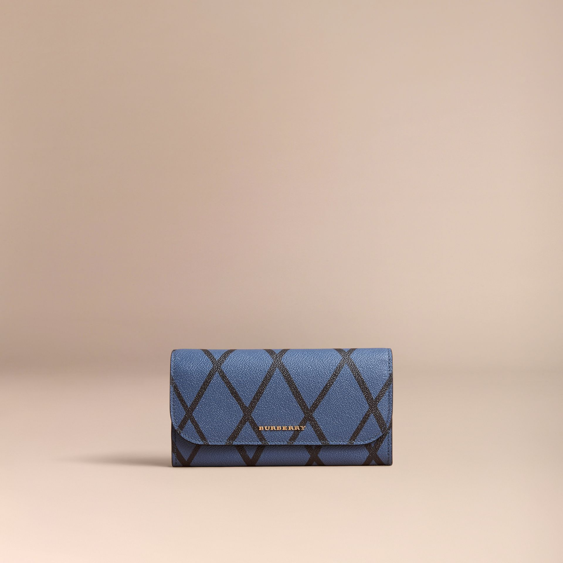Trompe L'oeil Print Leather Continental Wallet - Women | Burberry - gallery image 5
