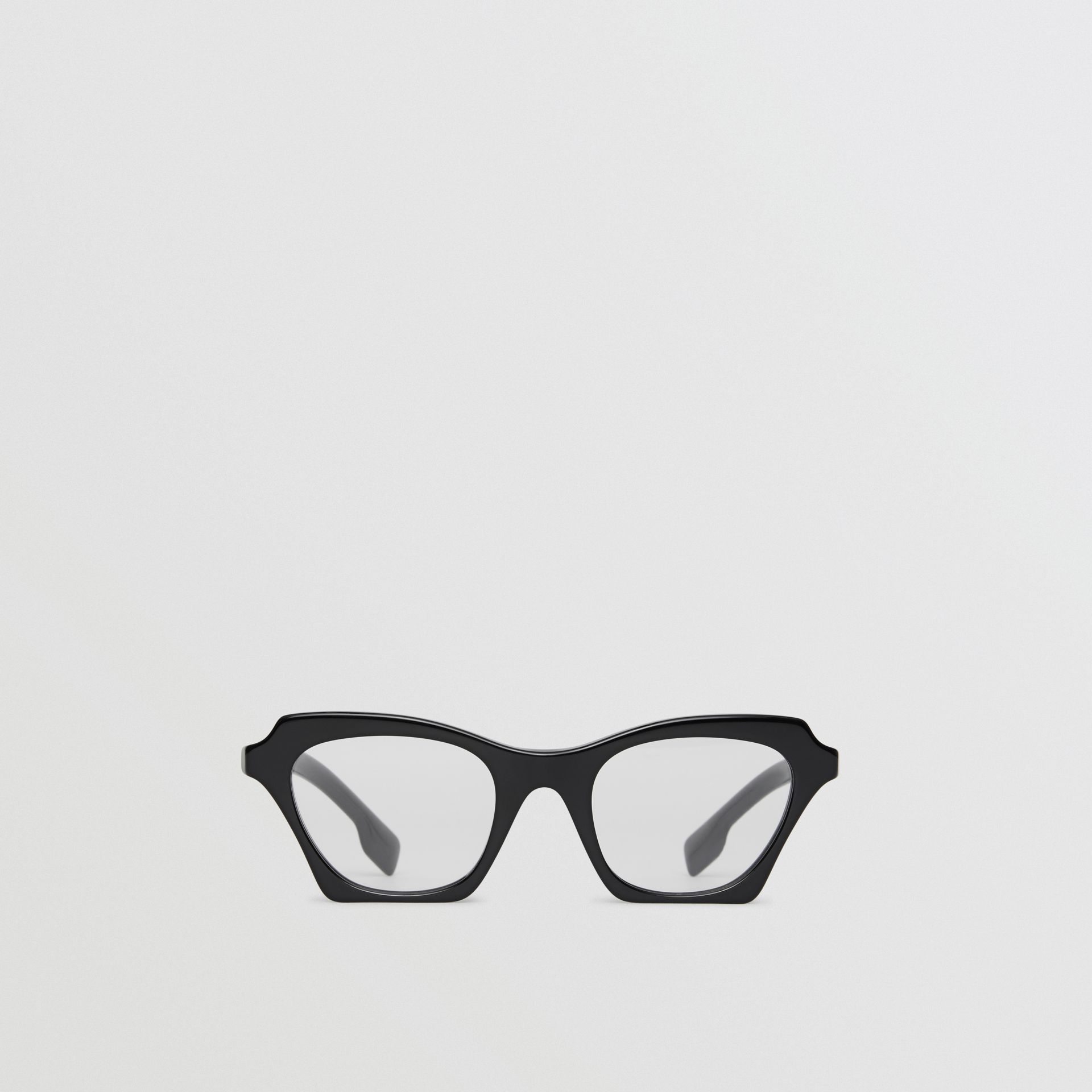Butterfly Optical Frames in Black - Women | Burberry Singapore - gallery image 0