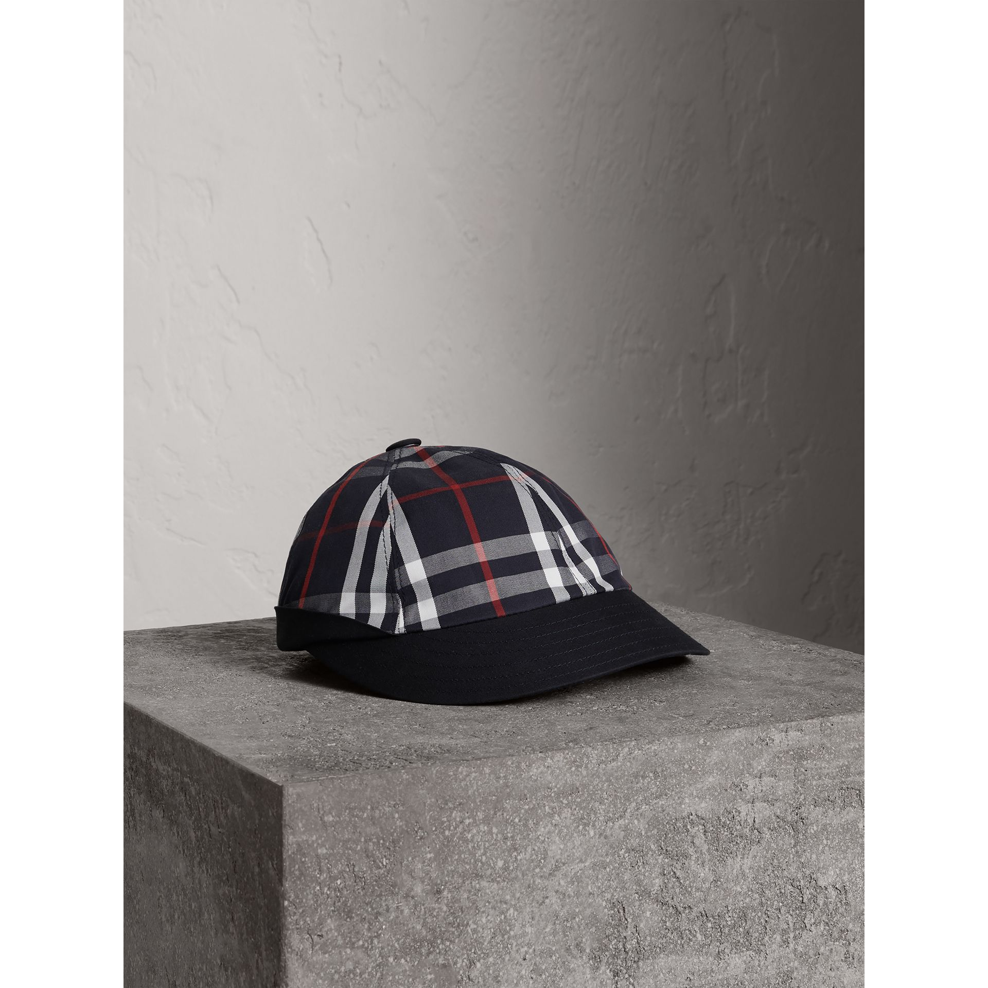 Gosha x Burberry Baseball Cap in Navy | Burberry Australia - gallery image 0