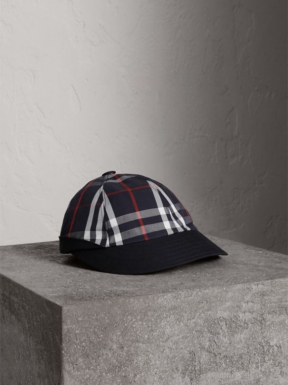 Gosha + Burberry - Berretto da baseball (Navy)