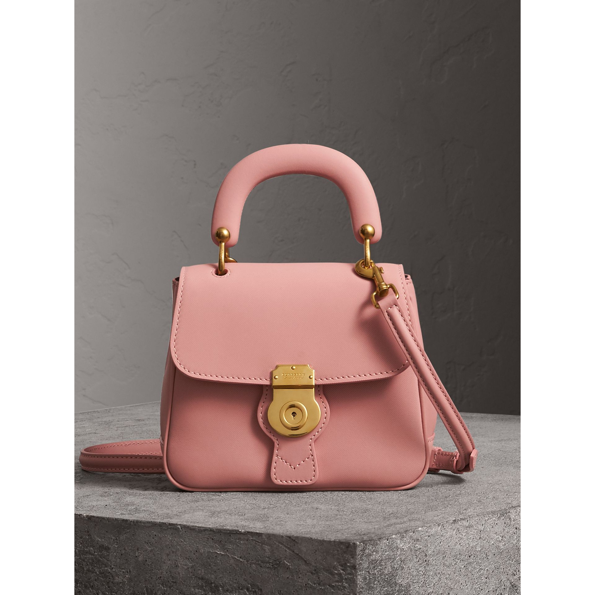 The Small DK88 Top Handle Bag in Ash Rose - Women | Burberry - gallery image 0