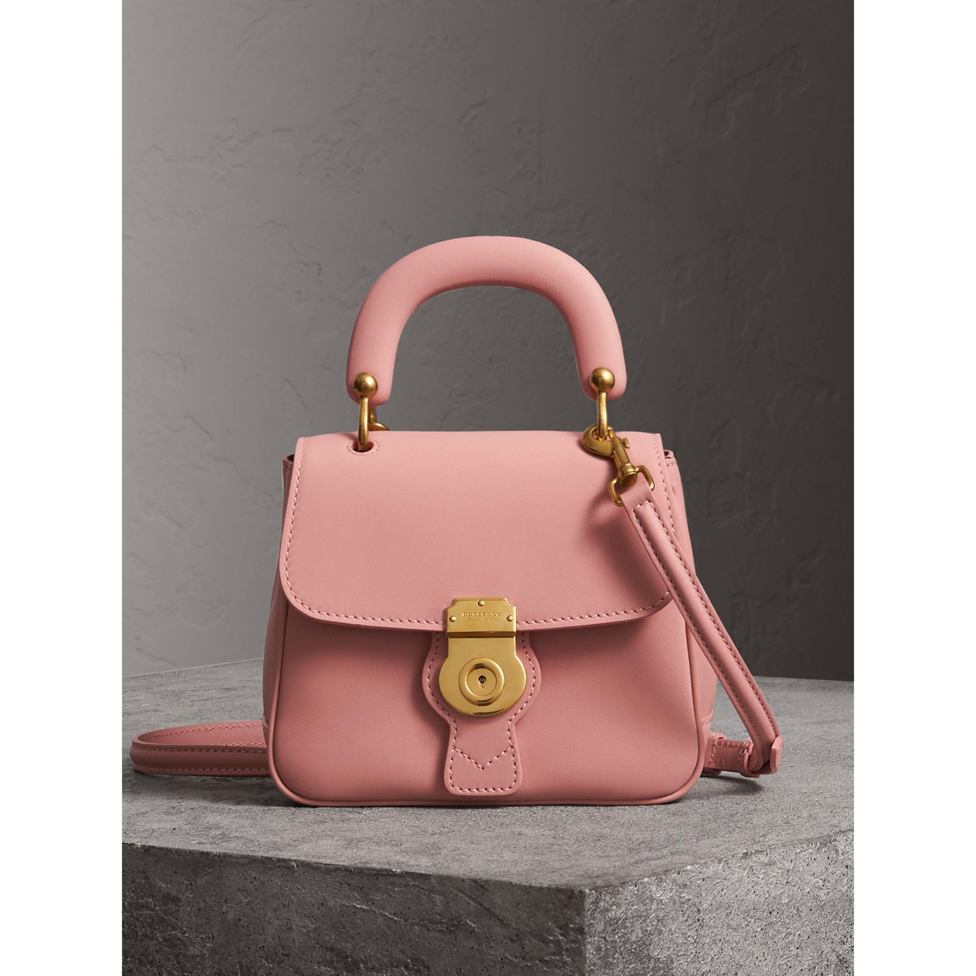 Burberry The Small Dk88 Top Handle Bag In Ash Rose   ModeSens 5c3d80ba85