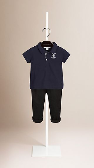 Burberry Baby Knight Polo Shirt